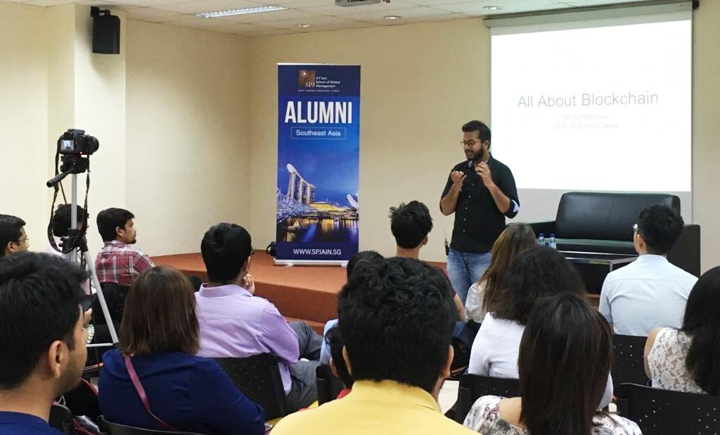 [Press Release] Blockchain for Everyone at S P Jain School of Global Management.jpg