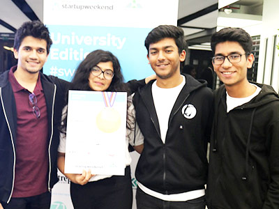 BBA Jaguars Ace Startup Weekend: University Edition at the Dubai Future Accelerators