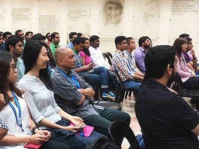 Postgraduate Students start their new chapter in Singapore