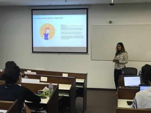 Sanjana Soman at SP Jain Dubai Campus