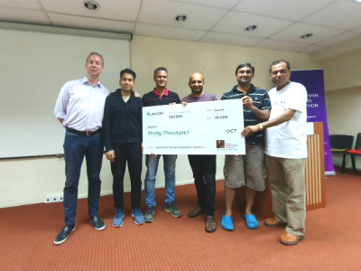 EMBA alumni ace the Blockchain Pioneers Hackathon Series