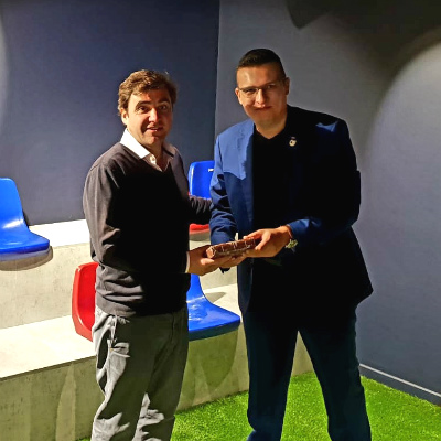 Mr. Javier Sobrino, Chief Strategy and Innovation Officer – FC Barcelona