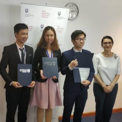 SP Jain's Jaguars – An Nguyen, Minh Nguyen and Nghia Gia Nguyen