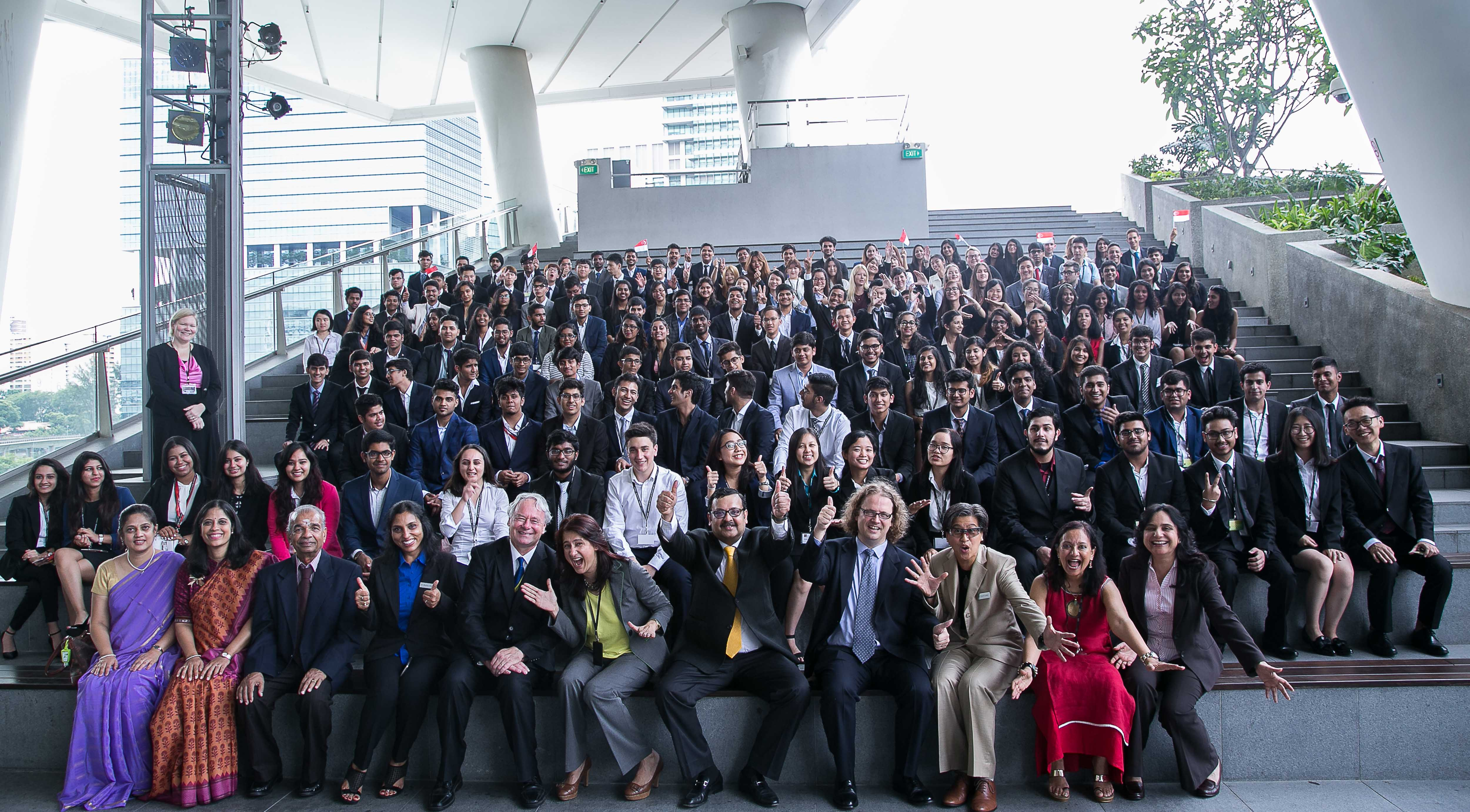 SP Jain Singapore Campus Welcomes the new Jags-2016