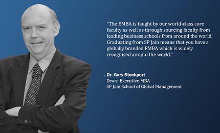 Collegedunia interviews Dr Gary Stockport (Dean – Executive MBA, SP Jain)