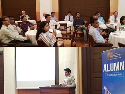 The Future of Marketing is Now – SP Jain Alumni come together for a Knowledge Share at the Singapore Campus