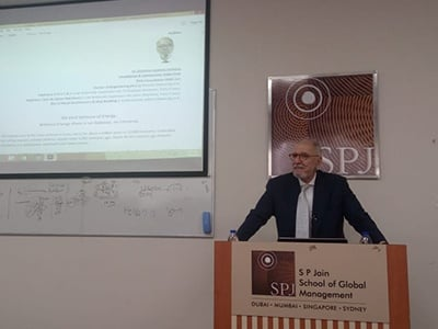 Geopolitics of Energy & Its Impact on Business – Interactive Session with Dr. Dimitrios Kokkinos
