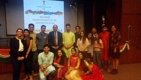 India in Dubai - UG Students at Dubai