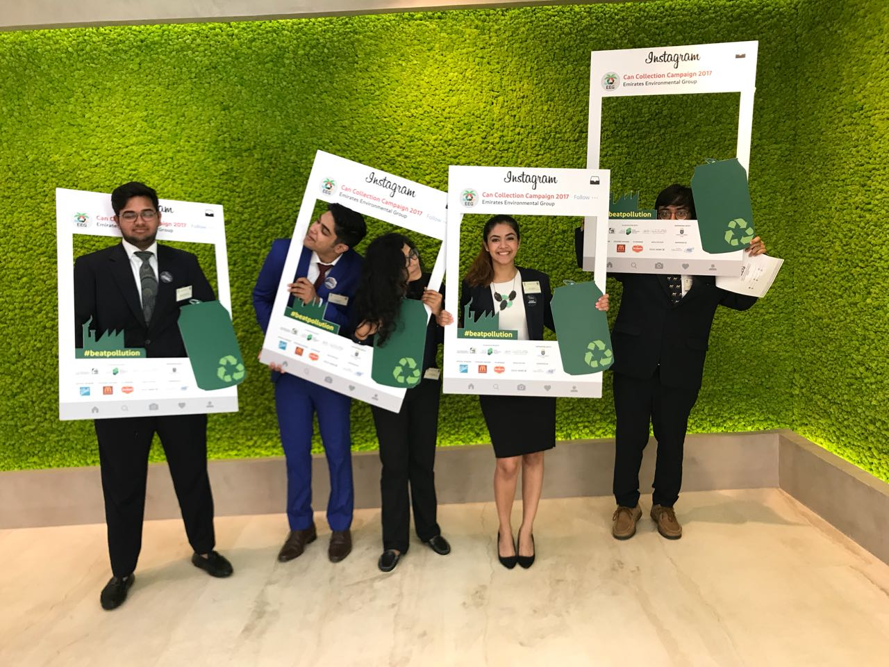 Jaguars ace Emirates Environmental Competition