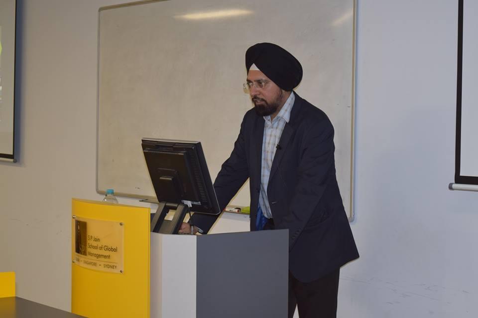 Technology Disrupting Finance - A talk with Anuraj Gambhir on the Finance Innovation in Australia