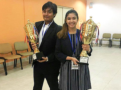 BBA Jaguars Emerge Winners at the 17th Inter University Cross Fire Debate Competition in Dubai