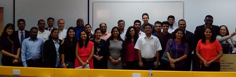 'Reinvent Yourself' – SP Jain Toastmasters Meet