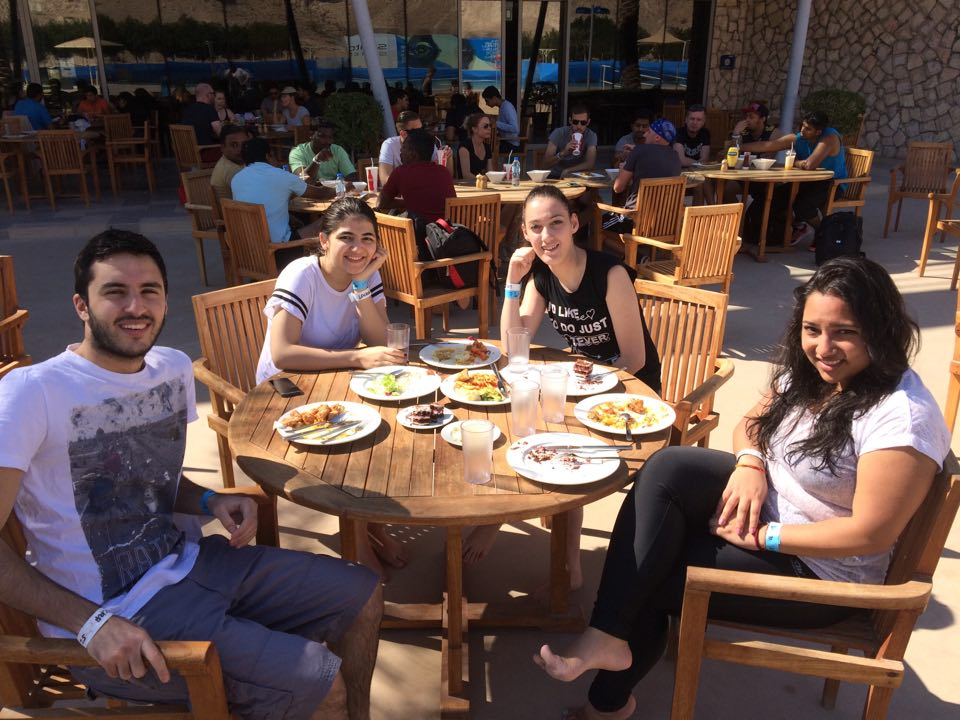 UNDERGRADUATE STUDENTS AT WADI ADVENTURE