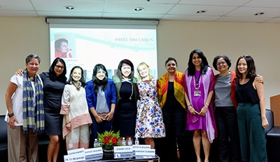 Women in Business – A Panel Discussion at the Singapore Campus