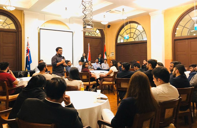 An Evening of Learning and Networking – SP Jain hosts Alumni Mixer in Singapore