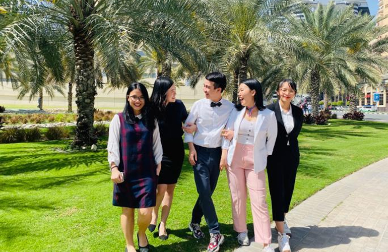 BBA Jaguars win first place and USD 3,000 at IMA Student Case Competition - Middle East 2020