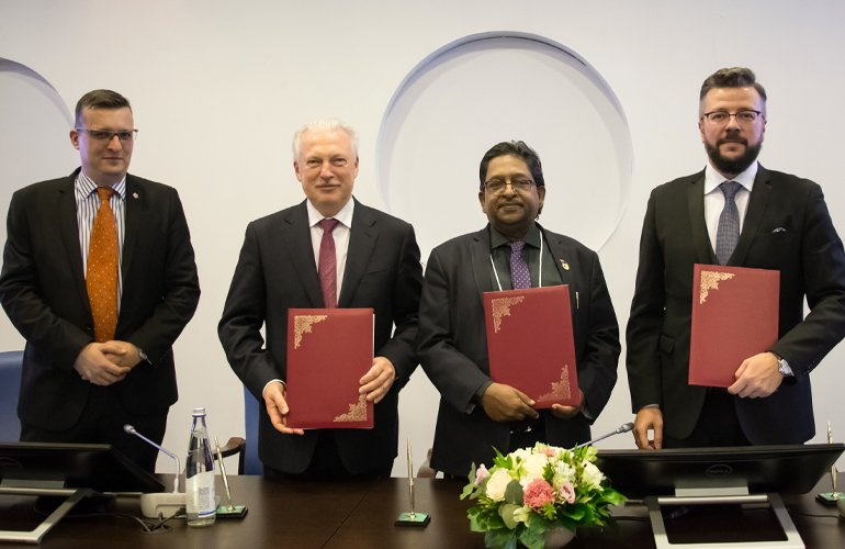SP Jain signs MoU with St Petersburg, Russian Federation