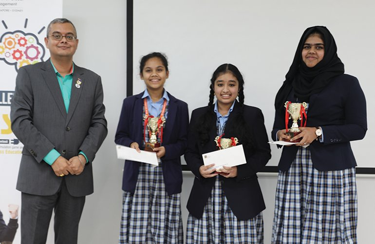 BrainSim 2019 – SP Jain organises Inter-School Business Simulation Competition