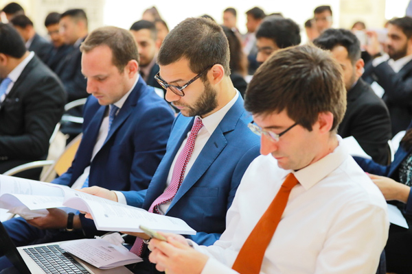 Postgraduate students of the May 2019 cohort kick-start their global journey