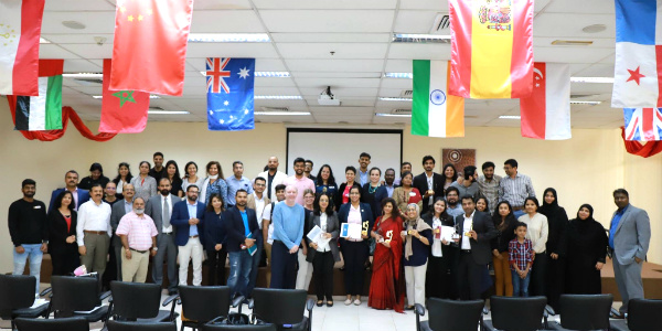 The Area 23 Annual Speech Contest held at SP Jain's Dubai campus was attended by 150+ toastmasters