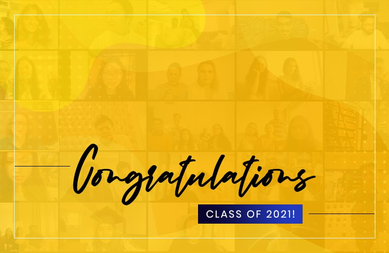 Virtual Graduation Ceremony of SP Jain's Class of 2021