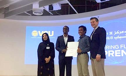 BBA student participates in the Henry Ford Entrepreneurship Academy's Workshop in Dubai