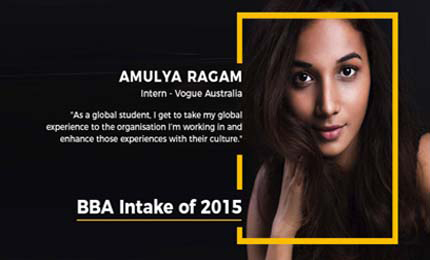 Thriving in the fashion industry – Amulya Ragam's internship story at Vogue Australia