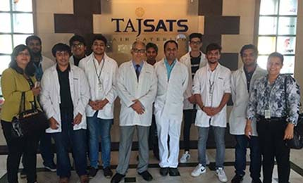 BBA Jaguars learn about TQM practices @TajSATS in Mumbai