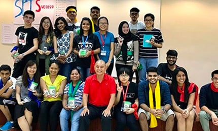 Amazing Race – Postgraduate students engage in a Global Learning activity in Singapore