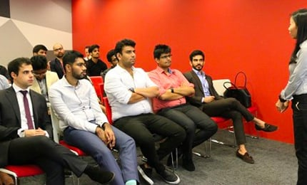 The Importance of Understanding your Brand Purpose and Customer – Postgraduate students visit Property Guru