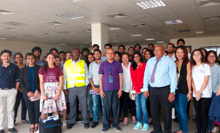 Understanding emergency operations with a visit to UNHCR's largest global stockpile