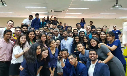 Graduating as a better version of myself: Amy Bhimani's MGB journey with SP Jain Global