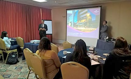 MGB Students visit Crown Plaza, IHG Group Dubai