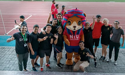 SP Jain students emerge as champions at the NTU MBA Olympics 2020