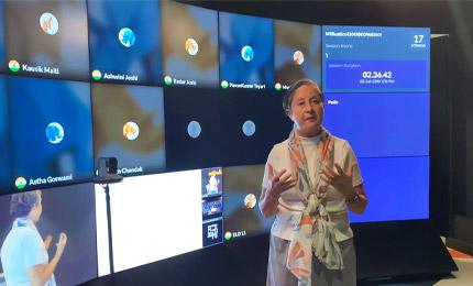 Dr CJ Meadows' experience at SP Jain Global's ELO studio
