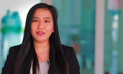 Carmelli Danae Piccio Templanza (MGB'19) shares her SP Jain experience