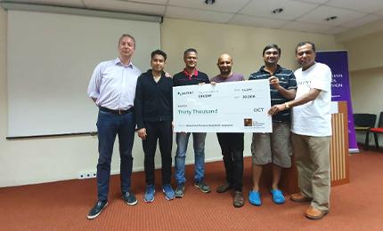 EMBA alumni bag 2nd place in Blockchain Pioneers Hackathon Series