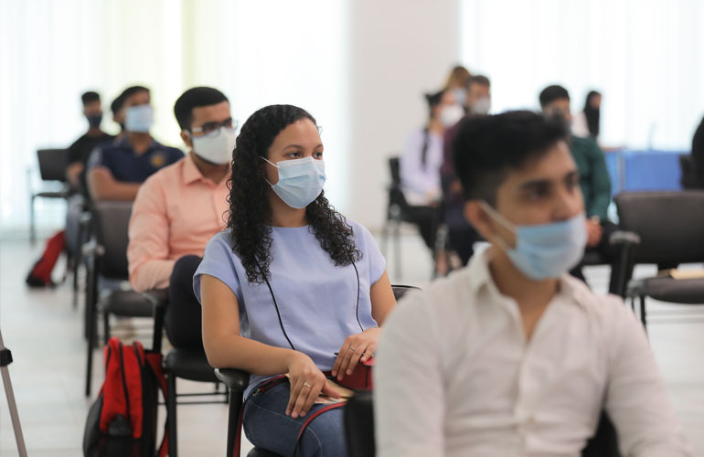 Returning with Resilience – SP Jain welcomes students back to Dubai Campus