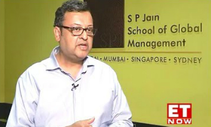 ET Now interviews SP Jain's President Nitish Jain on the School's success