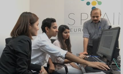 Learning neuromarketing – Students undertake projects at the SP Jain Neuroscience Lab