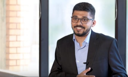 Yatin Gokhale (EMBA'19) shares how he never misses a single class despite travelling
