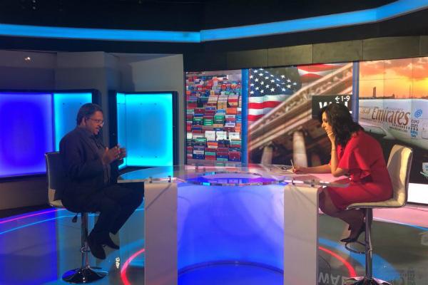 Prof Christopher Abraham on Dubai TV
