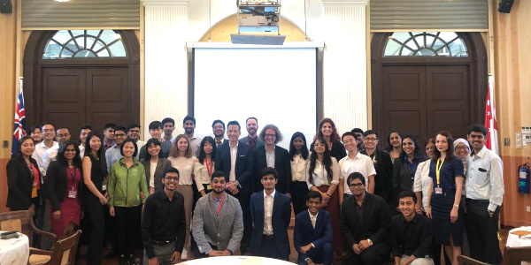 SP Jain welcomes Undergraduate students of Jan'19 and Sept'18 cohorts at Singapore campus