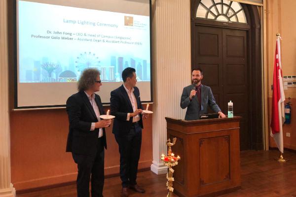 Professor Golo Weber, Assistant Dean & Assistant Professor