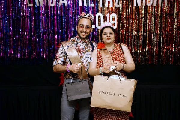 Mr. Ricardo Communod (EMBA Batch 14) and Ms. Anisya Uberoi (EMBA Batch 10) won the Style Icon awards