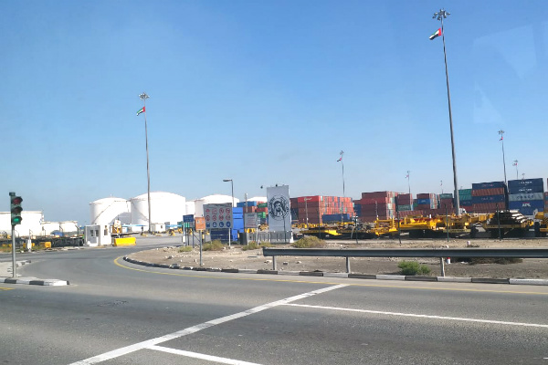 Port in line with Expo 2020