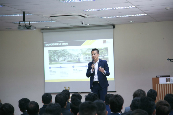 Dr. John Fong, CEO & Head of Campus (Singapore)