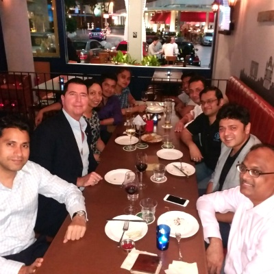 SP Jain Singapore Alumni form an Entrepreneur Club and host the first meet with Paul Bradley