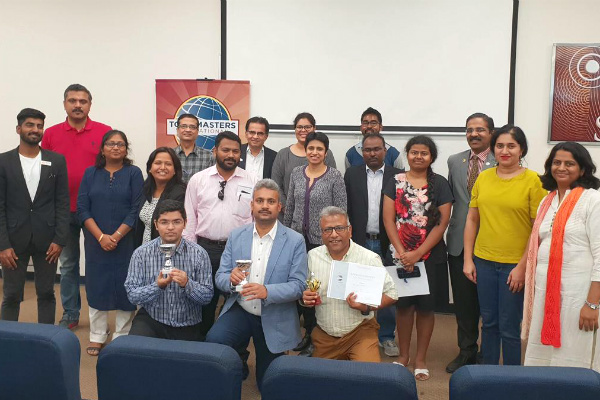 It was wonderful to witness the enthusiasm among the new Toastmasters